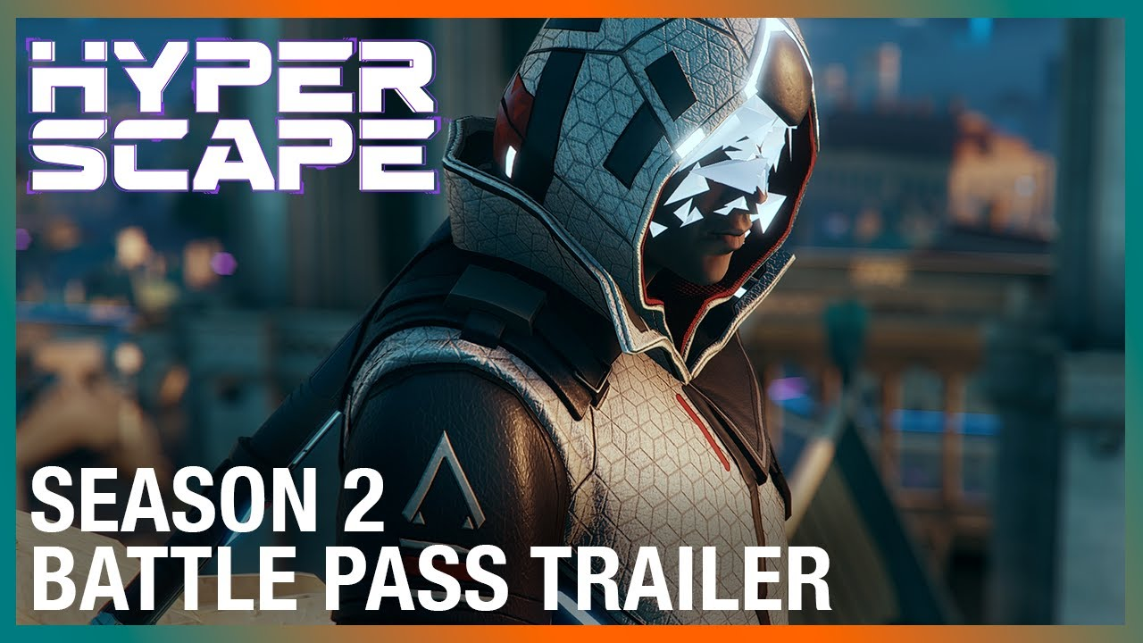 Hyper Scape: Season 2 Battle Pass Trailer | Ubisoft