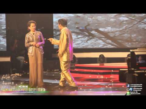 Persembahan AC Mizal & Luna Maya Dalam Anugerah Lawak Warna