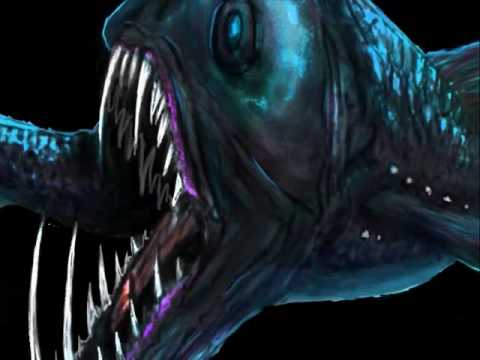 Speed Painting A Viperfish