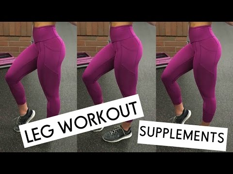 QUAD & BOOTY Workout | Supplements For Women