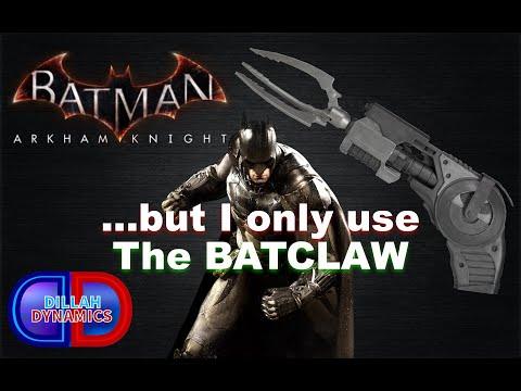 Batman Arkham Knight's HARDEST Combat Challenge... but I only use the BATCLAW |