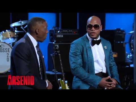 Flo Rida on Arsenio Hall (INTERVIEW FULL)