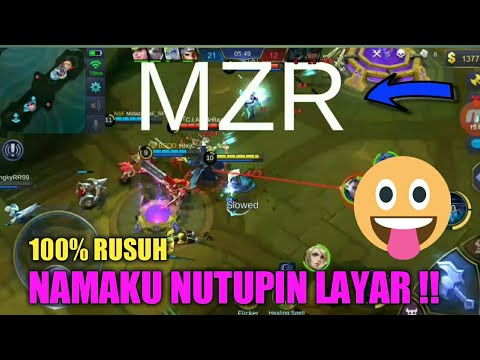 PAKE NAMA SUPER BESAR, BIKIN RUSUH DI BRAWL MODE !! - MOBILE LEGEND INDONESIA