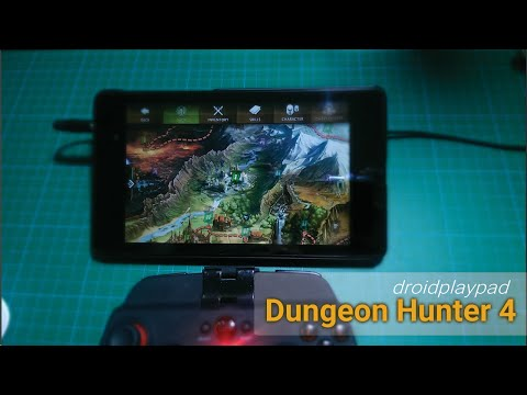 Android Gamepad Games - Dungeon Hunter 4