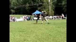 Greater Moncton Spca Dog Jog - Jj White And His Disc Dogs