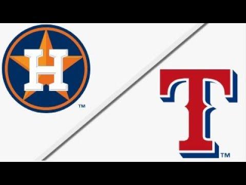 Houston Astros vs Texas Rangers   Full Game Highlights   3/29/18