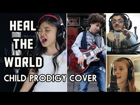 Michael Jackson Tribute   Heal The World   Child Prodigy Cover | Maati Baani