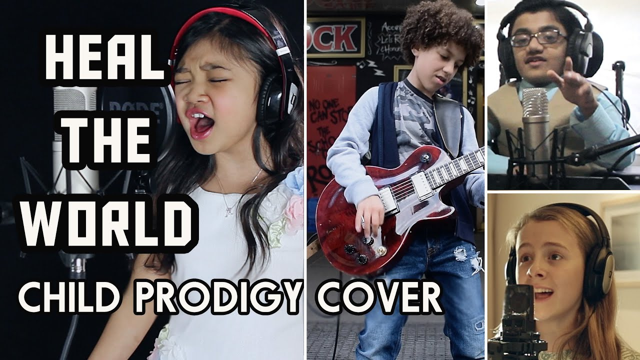 Image result for 45 Child Artists Created This Cover Of Michael Jackson's Heal The World And It's Brilliant