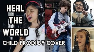 Michael Jackson Tribute - Heal The World - Child Prodigy Cover | Maati Baani