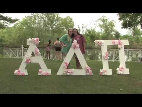 North Alabama UNA ADPI Zeta Eta Recruitment is Real Sisterhood- our Values on Video 2017