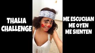 Thalia Challenge Me Escuchan Me Oyen  Lapizito Y Lapizin