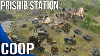 Soldiers Heroes of World War II - Coop Part 5 - Prishib Station - USSR Campaign