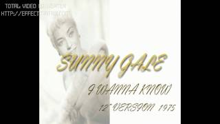 sunny gale _ i wanna know (12