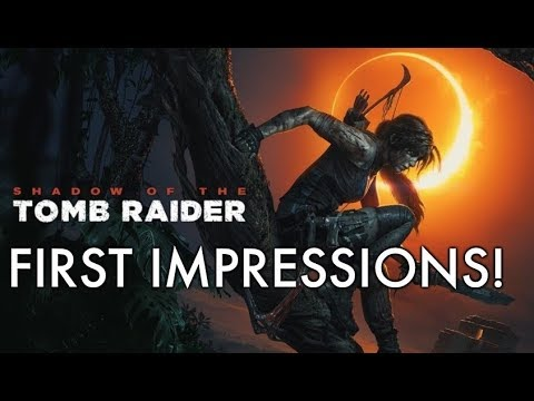 Shadow Of The Tomb Raider First Impressions Xbox One X