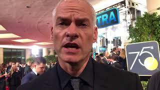 Martin McDonagh ('Three Billboards') Golden Globes 2018 red carpet exclusive interview