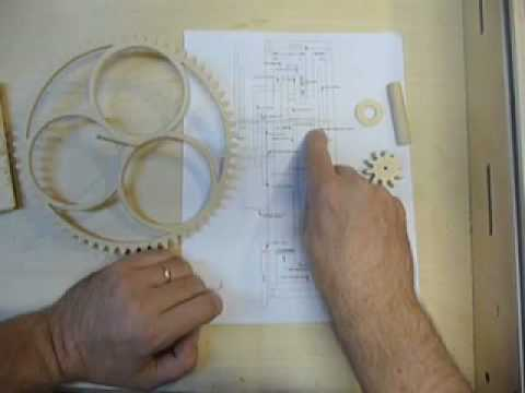 Making the #6. part 3, A Wooden Gear Clock. - YouTube