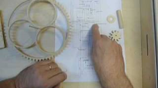 Making The #6. Part 3, A Wooden Gear Clock.