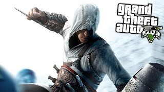ASSASSIN'S CREED MOD (GTA 5 Mod Komik Anlar)