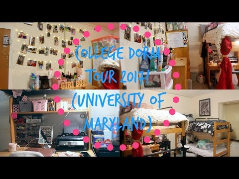 COLLEGE DORM TOUR 2017! | University of Maryland