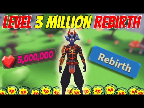 LEVEL 3 MILLION REBIRTH | BECOMING A PRO | ROBLOX GIANT SIMULATOR