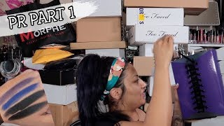 PART 1 UNBOXING MY MAKEUP PR PACKAGES! NEW MAKEUP RELEASES + GIVEAWAY