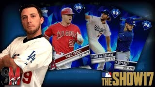 MY FIRST DIAMOND PULL! - MLB THE SHOW 17 PACK OPENING