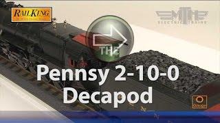 MTH RailKing Imperial 2-10-0 Decapod Steam Locomotive