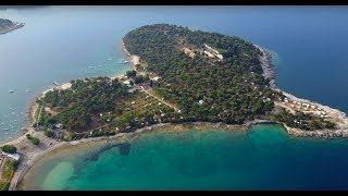 Camping Stoja Pula Croatia From the Sky