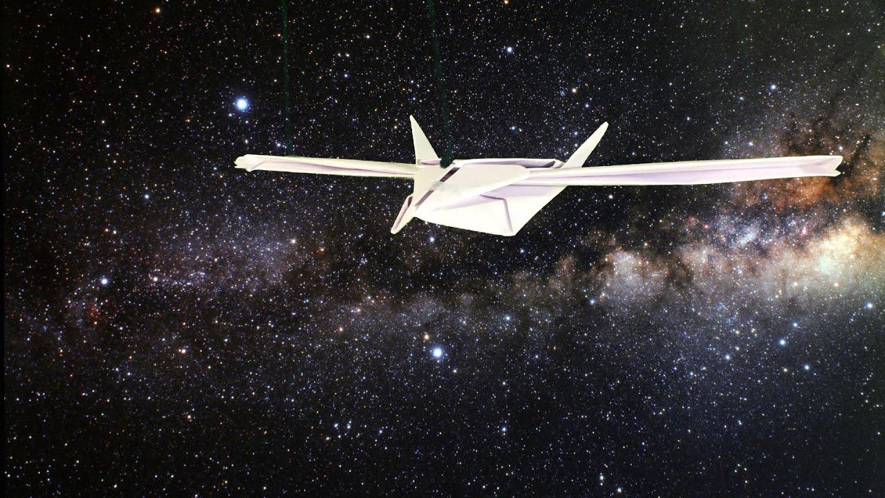 Origami Spaceship Tutorial Youtube