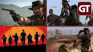 Thumbnail für Phänomen Red Dead Redemption & Red Dead Redemption 2 - GT-Talk #20