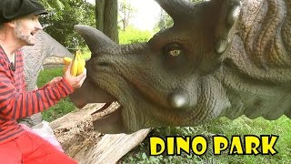 TRICERASNOT... EH, TRICERATOPS!  | DINO PARK - fun dinosaur facts for kids, Daddy Donut