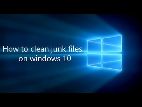How to Clear Cache in Windows 10|How to clean junk files on windows 10 | Clean Junk files in Windows