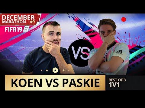 BEST OF 3 TEGEN EL JOCHO!! KOEN VS PASKIE | KOEN WEIJLAND FIFA19 DecemberMarathon#5