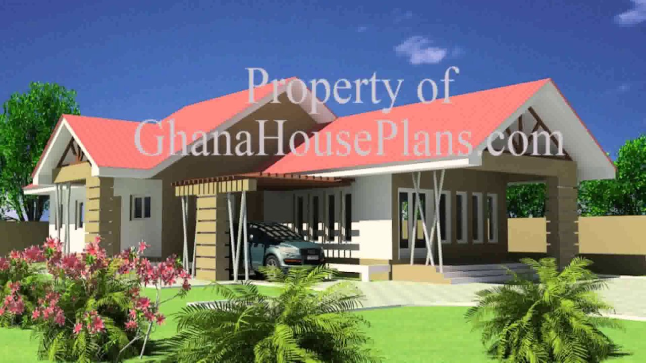 House Plans Designs In Ghana Youtube