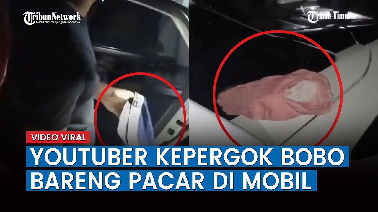 Viral Detik-detik Youtuber di Aceh Kepergok Bobo Bareng Pacar di Mobil