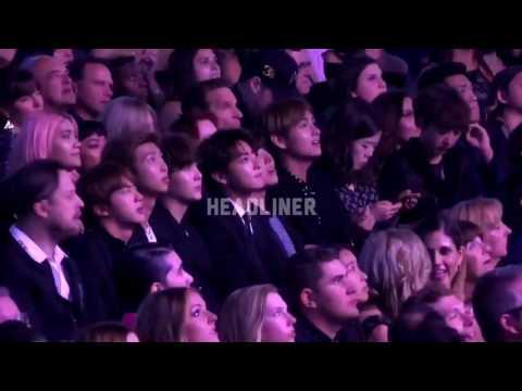 170522 BTS REACT To Bruno Mars - Versace On The Floor -BBMA 2017!