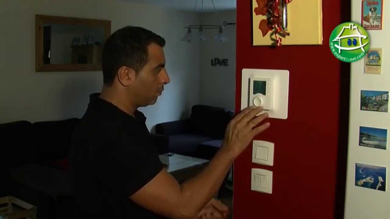 Comment installer un thermostat d 39 ambiance youtube - Comment installer un groupe filtrant ...
