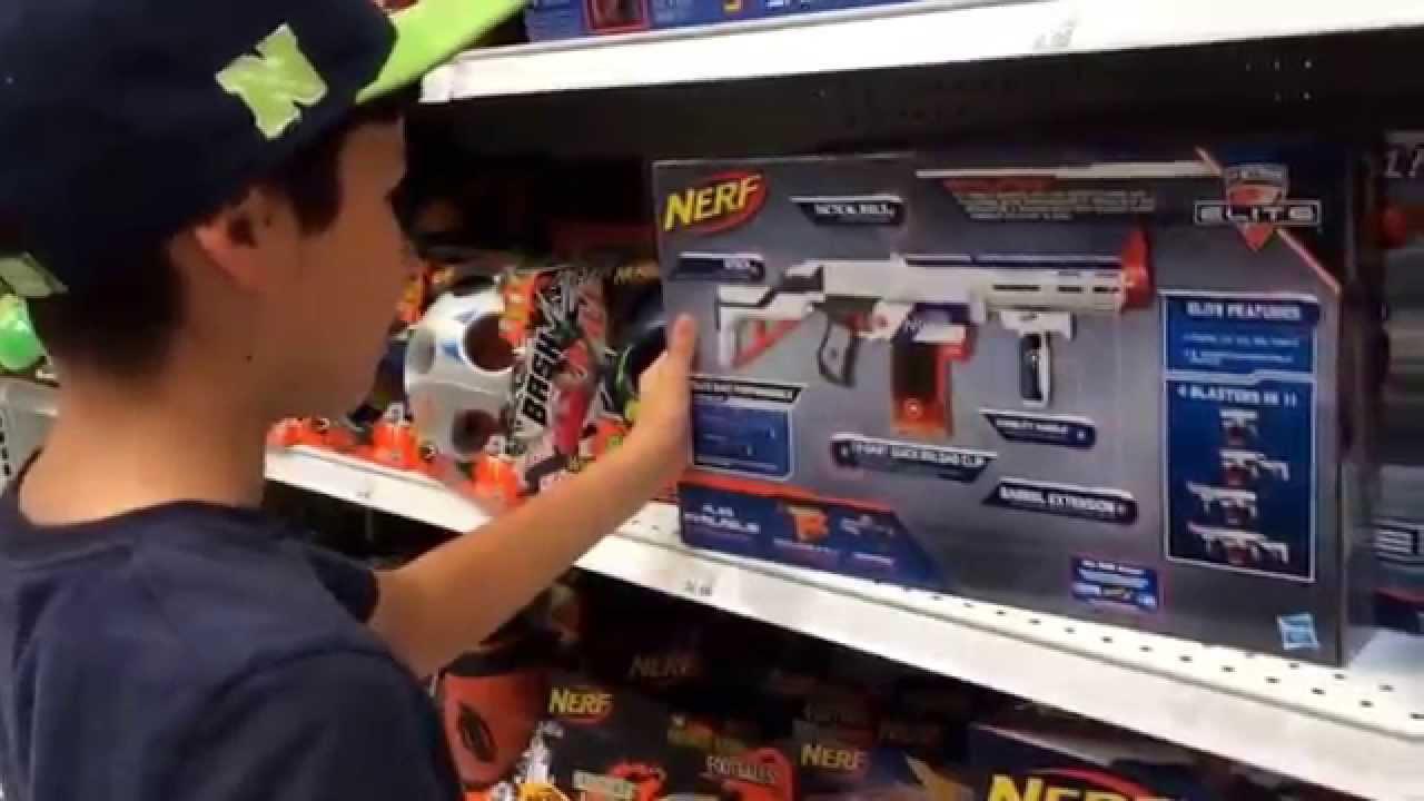 Toys R Us Nerf Guns : Vlog toys r us nerf guns youtube