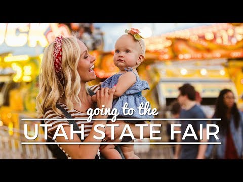 TAKING OUR BABY TO THE STATE FAIR || VLOG