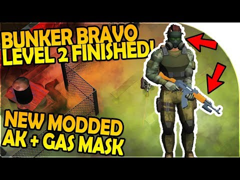 FINISHING BUNKER ALFA VAULT LEVEL 2 - MODDED AK + GAS MASK - Last Day On Earth Survival 1.5.4 Update