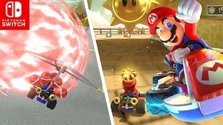 Batallas PODEROSAS !! en Nuevas Modalidades 🎈💣👮   Mario Kart 8 Deluxe en Español - SWITCH - ZetaSSJ
