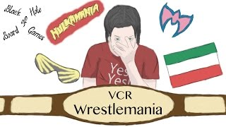 Black Hole of Board Games - WWF VCR Wrestlemania Board Game