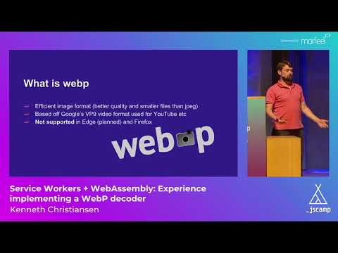 Experience implementing a WebP decoder by Kenneth Christiansen