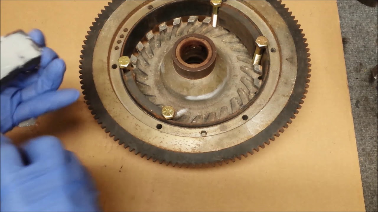 Repairing Flywheel Magnets - 200 HP Johnson / Evinrude Outboard