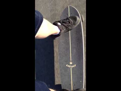 Carver Skateboard's CX.4  Means No Pushing