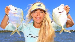 ULTRA THIN Lookdown Fish! Catch, Clean & Cook Video