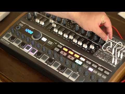 Arturia Minibrute 2s as a Drumsynth like the Moog DFAM