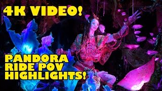 Na'vi River Journey POV Highlights Pandora World of Avatar Walt Disney World Animal Kingdom