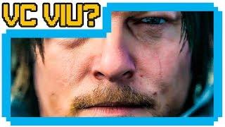 Norman Reedus revela segredos de Death Stranding - VC VIU? GAME OVER