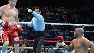 THE BIG RUMBLE!  SULTAN  IBRAGIMOV VS LANCE WHITAKER FULL FIGHT